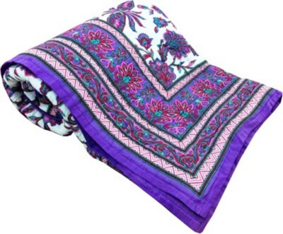 Marwal Floral Single Quilts & Comforters Multicolor