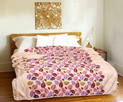 CURL UP Printed Single Dohar Multicolor