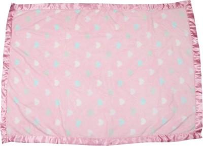 Avas Abstract Crib Blanket Pink-1