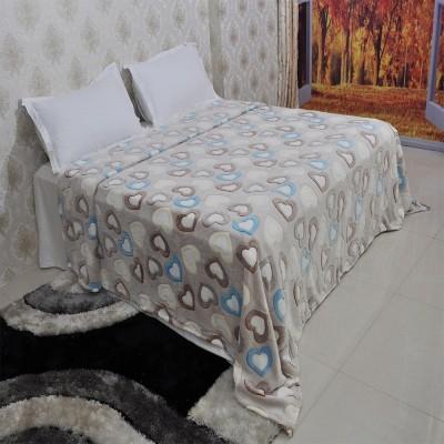 Welhouse India Abstract Double Blanket Beige