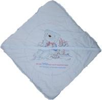 Baby Bucket Cartoon Single Blanket Blue