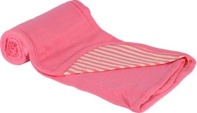 MOS-QUIT-O Polka Single Blanket Pink