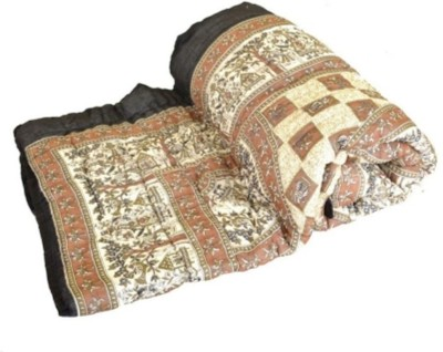 Ruchiworld Geometric King Quilts & Comforters Multicolor