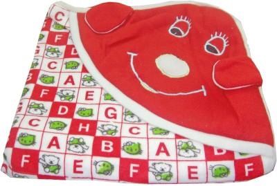 Baby Basics Cartoon Single Blanket Red