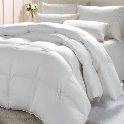 Craftola Plain Single Duvet White