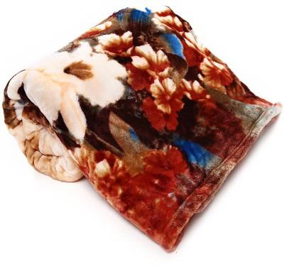 Casa Confort Floral Single Blanket Multicolor
