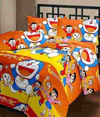 Feel Soft Cartoon Single Dohar Multicolor