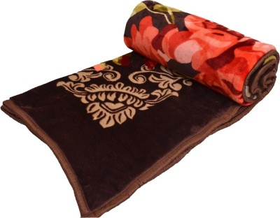 El Sandlo Floral Double Blanket Multicolour