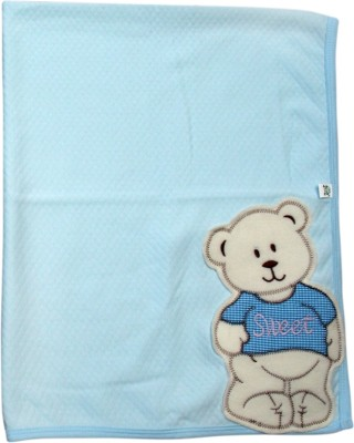 Offspring Printed Single Blanket Blue