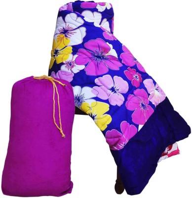 RajLaxmi Floral Single Quilts & Comforters Blue