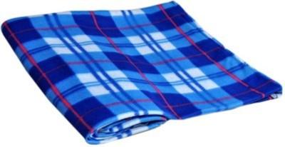 Jazz Checkered Single Blanket Multicolor
