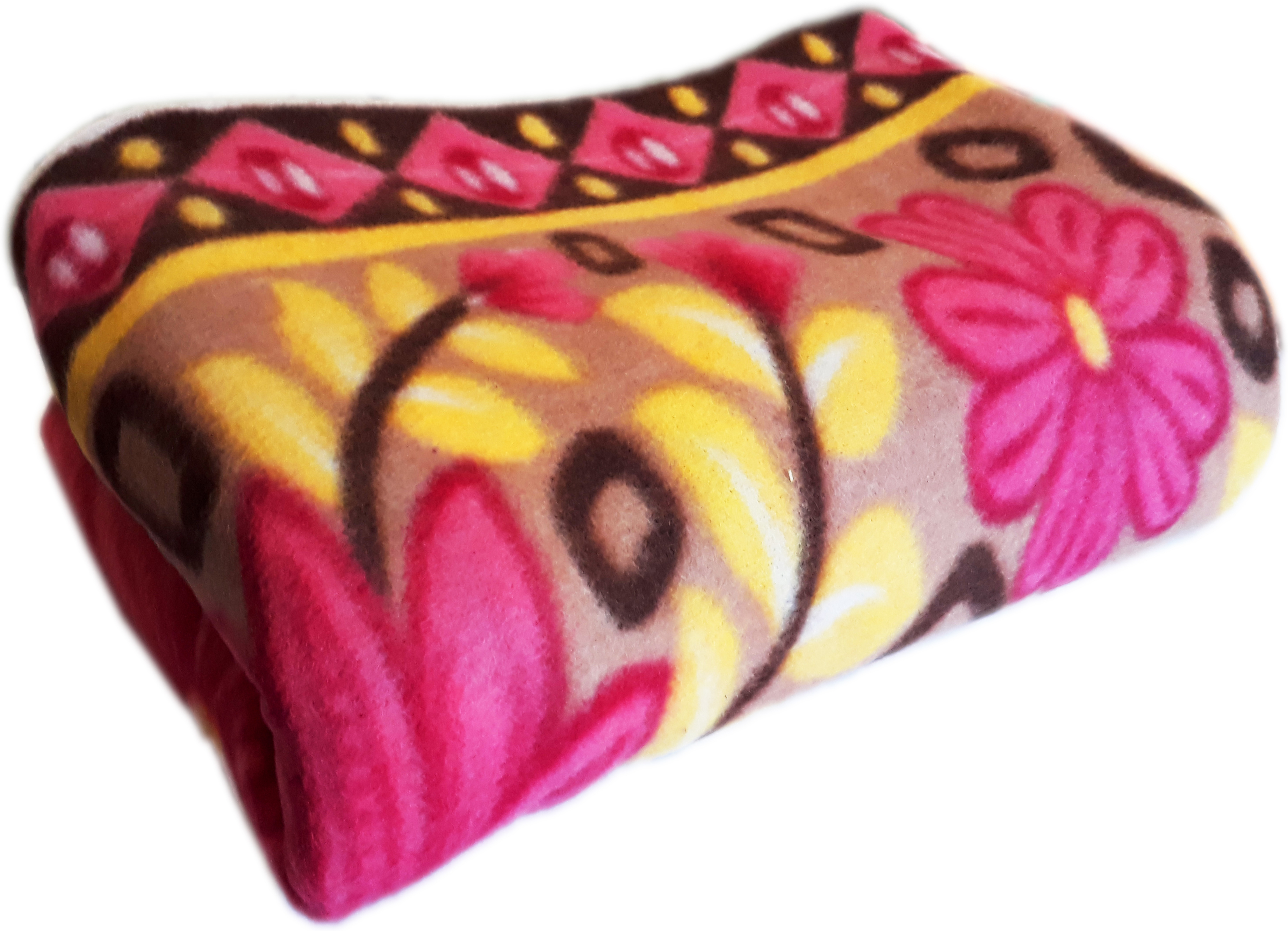 Living Creation Printed Single Blanket Multicolor