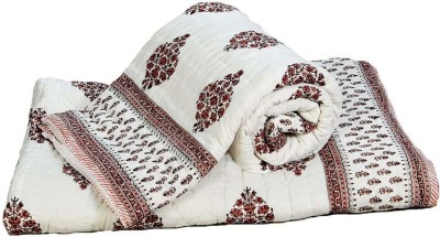 Little India Floral Double Quilts & Comforters White