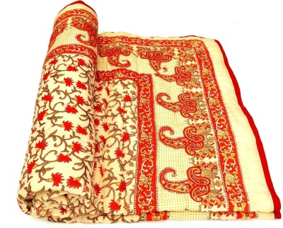 Shopping Rajasthan Floral Single Quilts & Comforters Multicolor