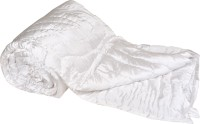 Chelsi Plain Double Quilts & Comforters White(Pack of 1 Comforter)