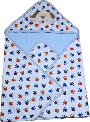 Offspring Printed Single Hooded Baby Blanket