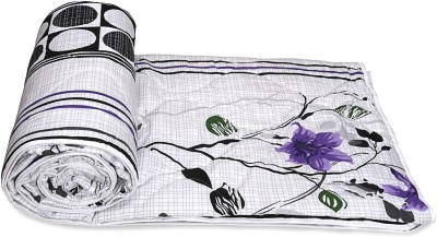 Ctm Textile Mills Floral Double Quilts & Comforters Multicolor(1 Comforter)