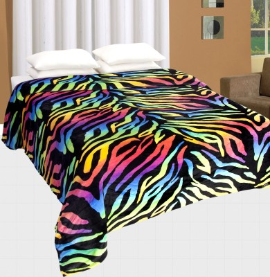 Nite N Day Animal Double Dohar Multicolor
