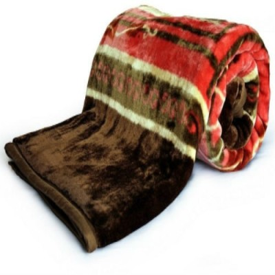 Creativehomes Printed Double Blanket Multicolor