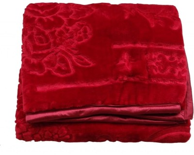 Kotcosy Checkered Double Blanket Red