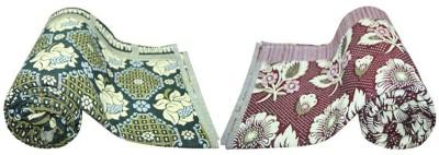 New Ladies Zone Floral Single Blanket Multicolor