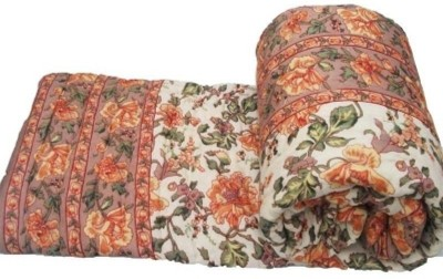 Ruchiworld Floral King Quilts & Comforters Multicolor