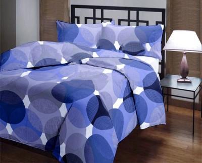Factorywala Polka Double Dohar Blue