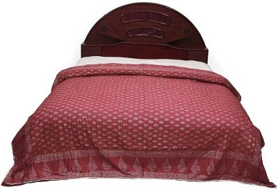 Home India Polka Double Quilts & Comforters Red