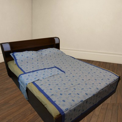 Thefancymart Cotton Floral Single Bedsheet