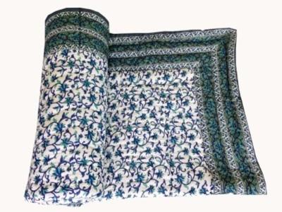 Ruchiworld Floral Double Blanket Multicolor