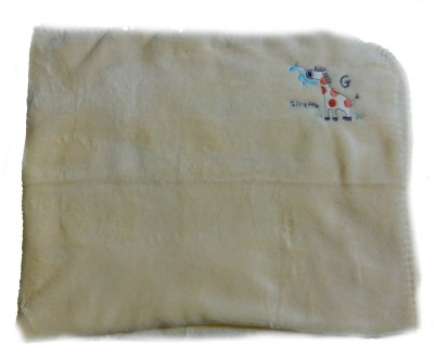 Kandy Floss Animal Single Blanket Yellow