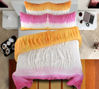 Shahenaz Home Shop Plain King Quilts & Comforters Pink / Mango