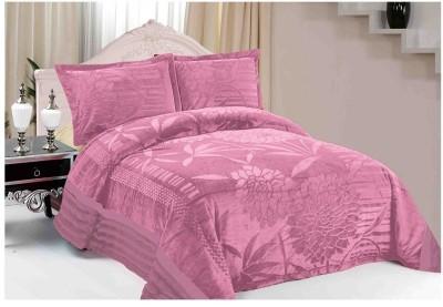 Florida Plain Single Quilts & Comforters Pink