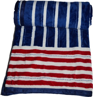 Shoppeholics Striped Double Blanket Multicolour