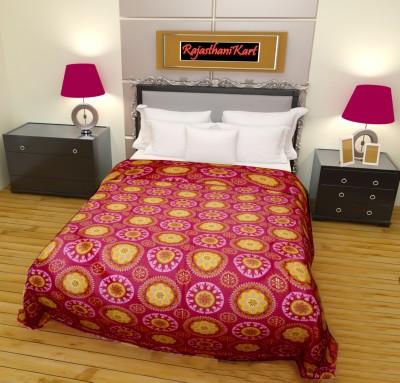 RajasthaniKart Floral Single Dohar MultoColor
