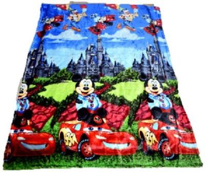 Portia Cartoon Single Blanket Multicolor