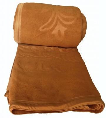 Kotcosy Striped Double Blanket Beige