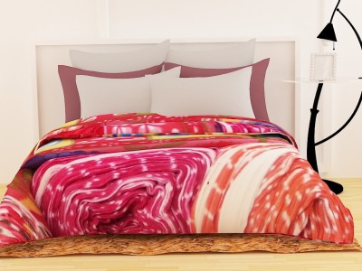 Story @ Home Floral Double Blanket Pink