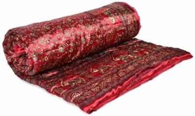 Phoenix International Floral Single Quilts & Comforters Multicolor(Jaipuri Razai Double Bed Quilt)