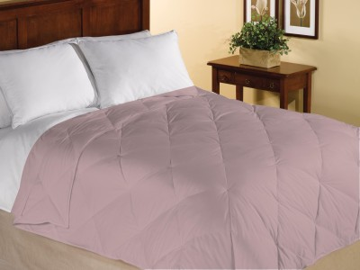 Home Bee USA Plain Single Quilts & Comforters Beige