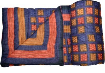 Double Duck Plain Double Quilts & Comforters Blue