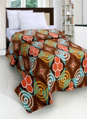 Surhome Abstract Single Blanket Multicolor