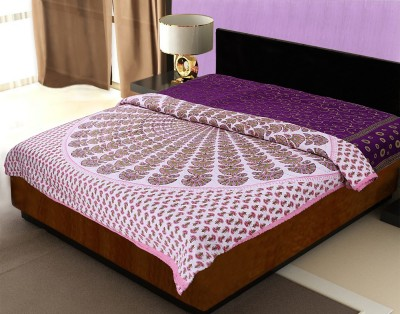 JaipurFabric Cartoon Double Quilts & Comforters Pink