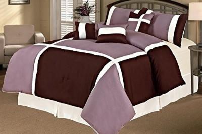 SALLY TEXTILES INC Geometric Purple