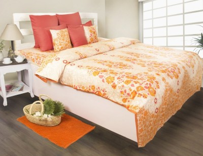 House This Floral Single Dohar Red