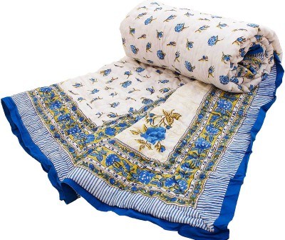 Indigocart Printed Single Quilts & Comforters Multicolor