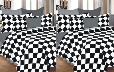 Renown Checkered Single Dohar MultiColored