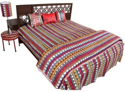 The Elephant Company Geometric Double Quilts & Comforters Multicolor