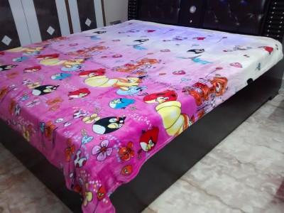 ShwetaInternational Cartoon Double Quilts & Comforters Pink