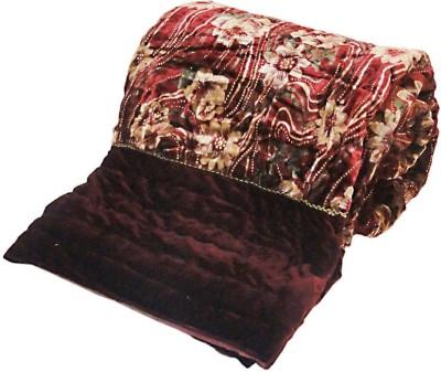 Vrtshop Abstract Double Quilts & Comforters Maroon
